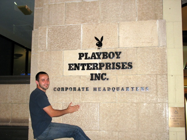 Чикаго, штаб квартира Playboy и Черняков, Chicago, Playboy corporate 