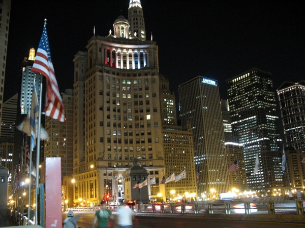 Чикаго ночью, Chicago night