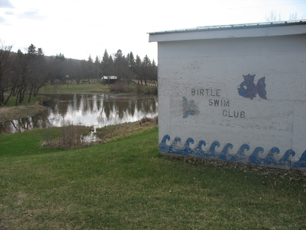 Birtle Swimming Club. Манитоба Канада, Manitoba Canada