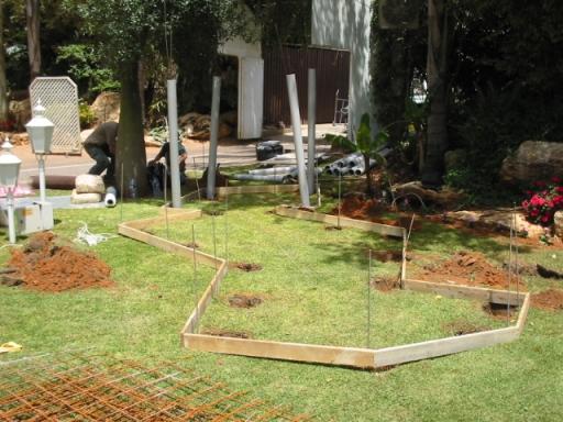 Ландшафтный дизайн - как построить водопад каскад и пруд на участке