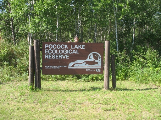 Pocock lake ecological reserve