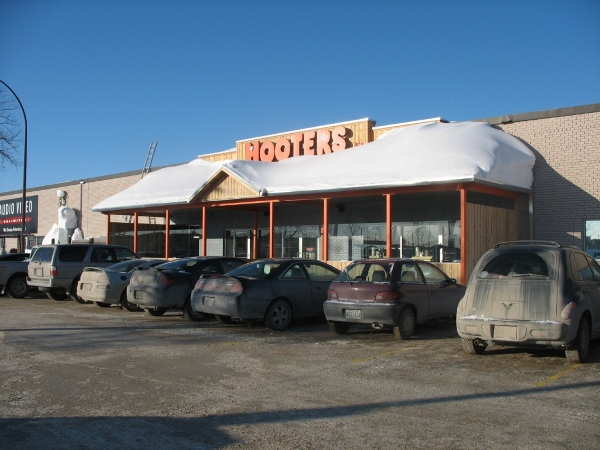 фотографии Виннипега, погода и зима, хутерс, HOOTERS Winnipeg