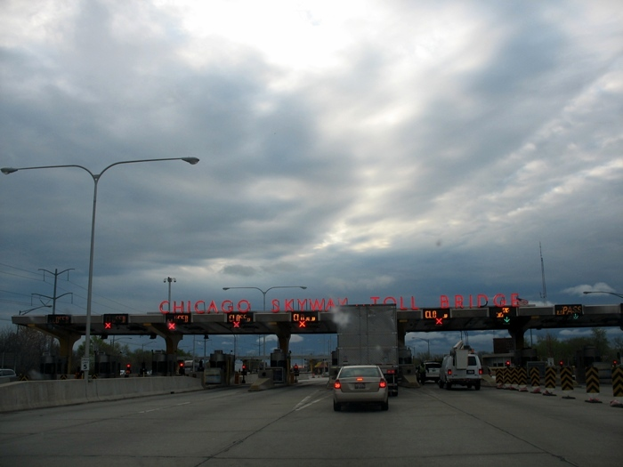 Чикаго мост Chicago Skyway Toll Bridge