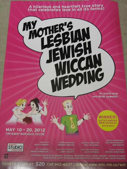 My mother s lesbian jewish wiccan wedding