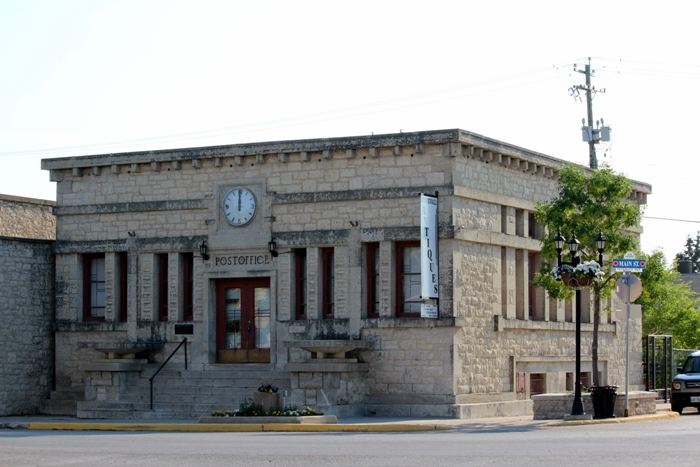 Стоунволл Манитоба почта Stonewall Manitoba post office