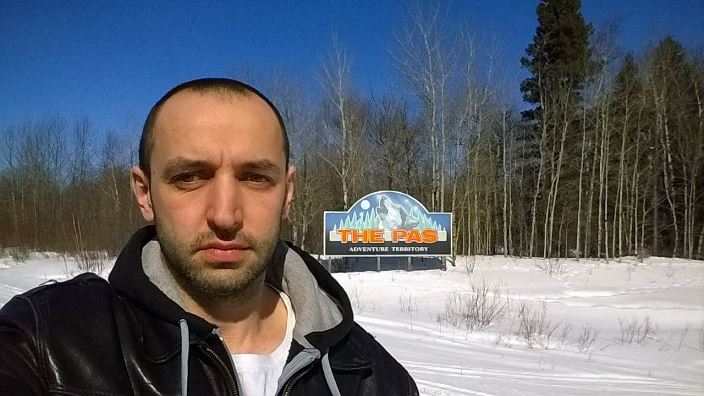 Черняков, Ве Па, Мантиоба. Chernyakov The Pas Adventure Territorry Manitoba Canada