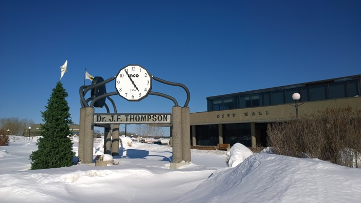 Муниципалитет Томпсон Манитоба Канада. City Hall Thompson Manitoba Canada