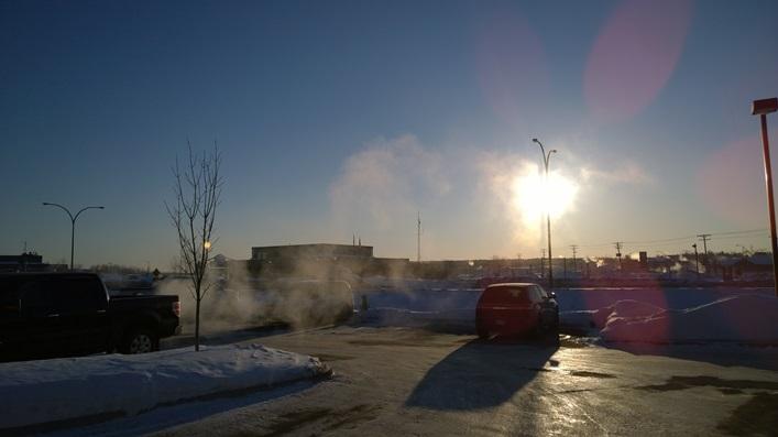 Thompson (MB) Canada  City pictures : Я, вместе со стартером моей машины, еле ...