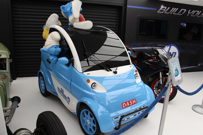 Вест Кост Кастомс Смурфики The Smurfs cart West Coast Customs