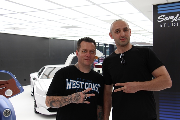 Черняков и Райан Фридлингхаус Вест Кост Кастомс Chernyakov and Ryan Friedlinghaus West Coast Customs