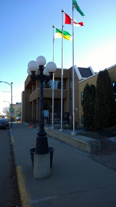 Норф Бэттэлфорд муниципалитет North Battelford City Hall