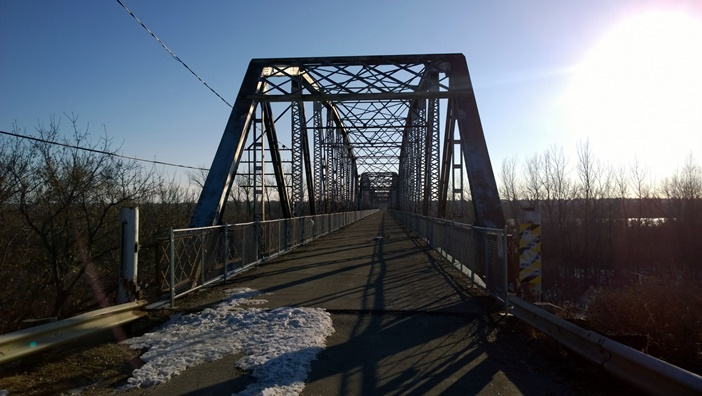 Норф Бэттэлфорд мост North Battelford bridge