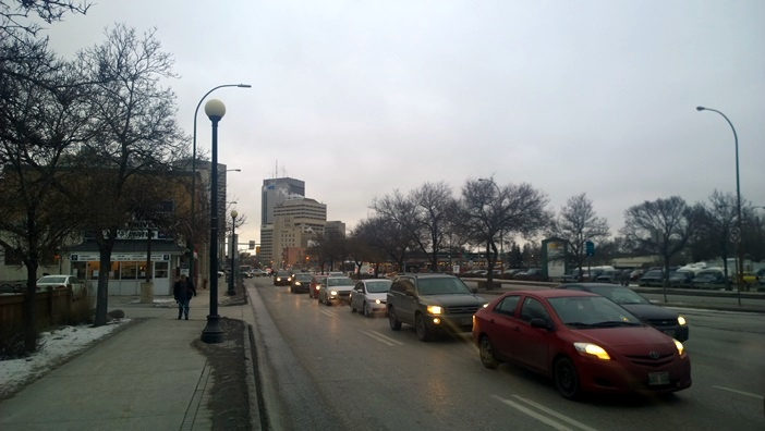 Виннипег улица Мэйн Winnipeg Main street