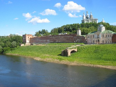 Смоленск Днепр крепость